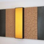 Triptychon, Erde, Stahl, Licht