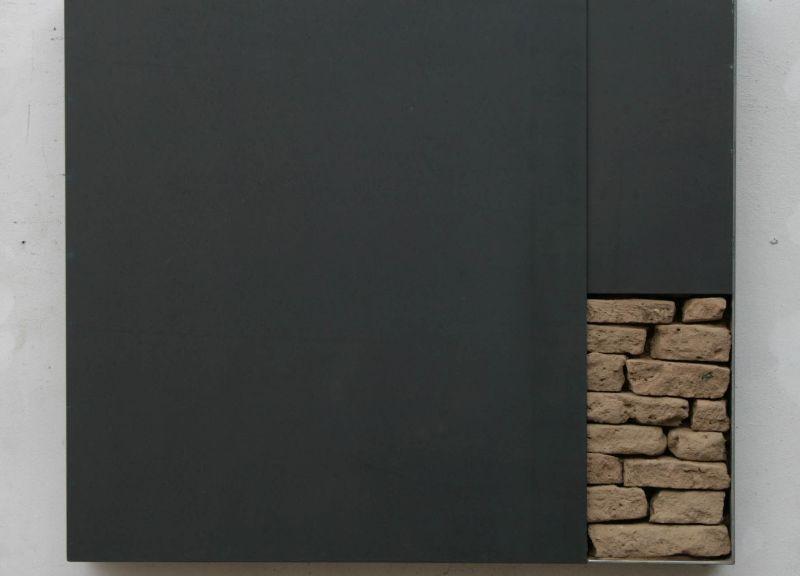 Wandtresor Juni 2012, 68 x 60 x 10 cm