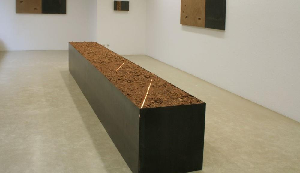 Blick in die Ausstellung Galerie Angelika Harthan