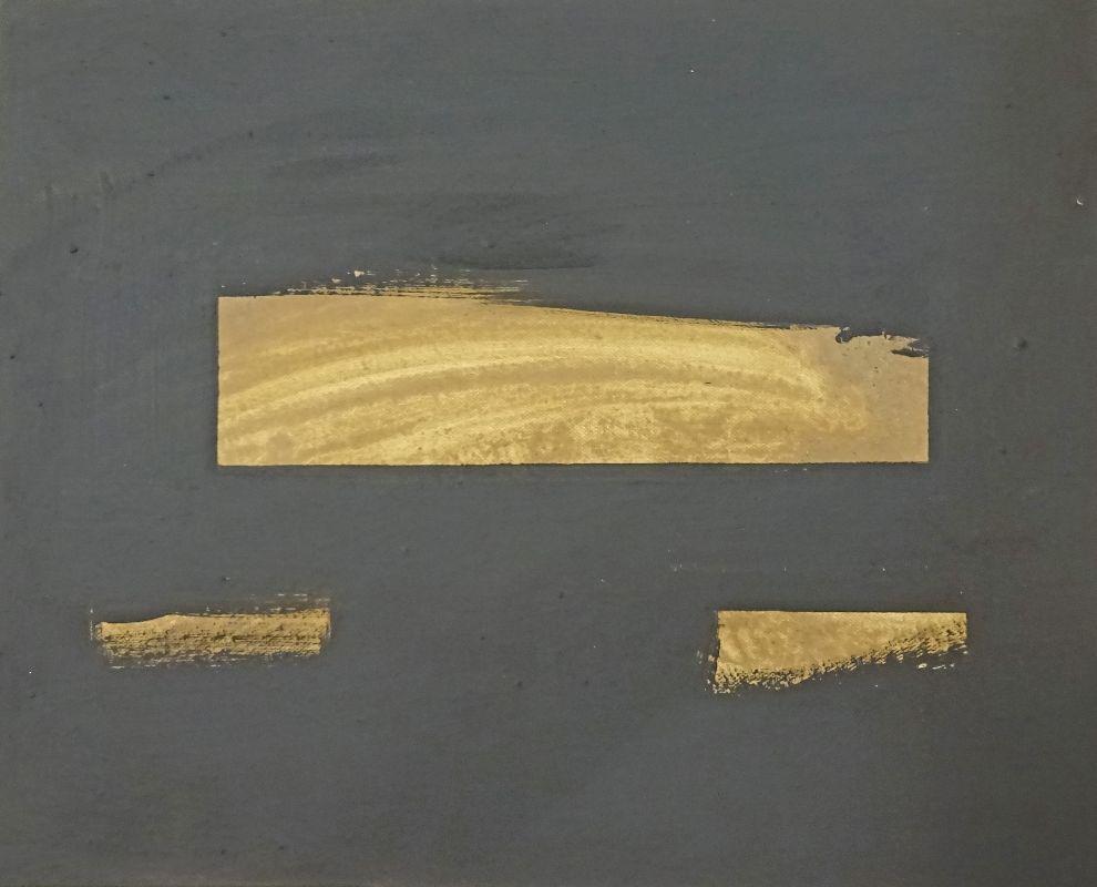 Pigment auf leinwand 40 x 50, 3 Februar , 2017